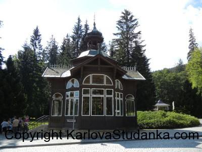 Pitný Pavilon - Karlova Studánka