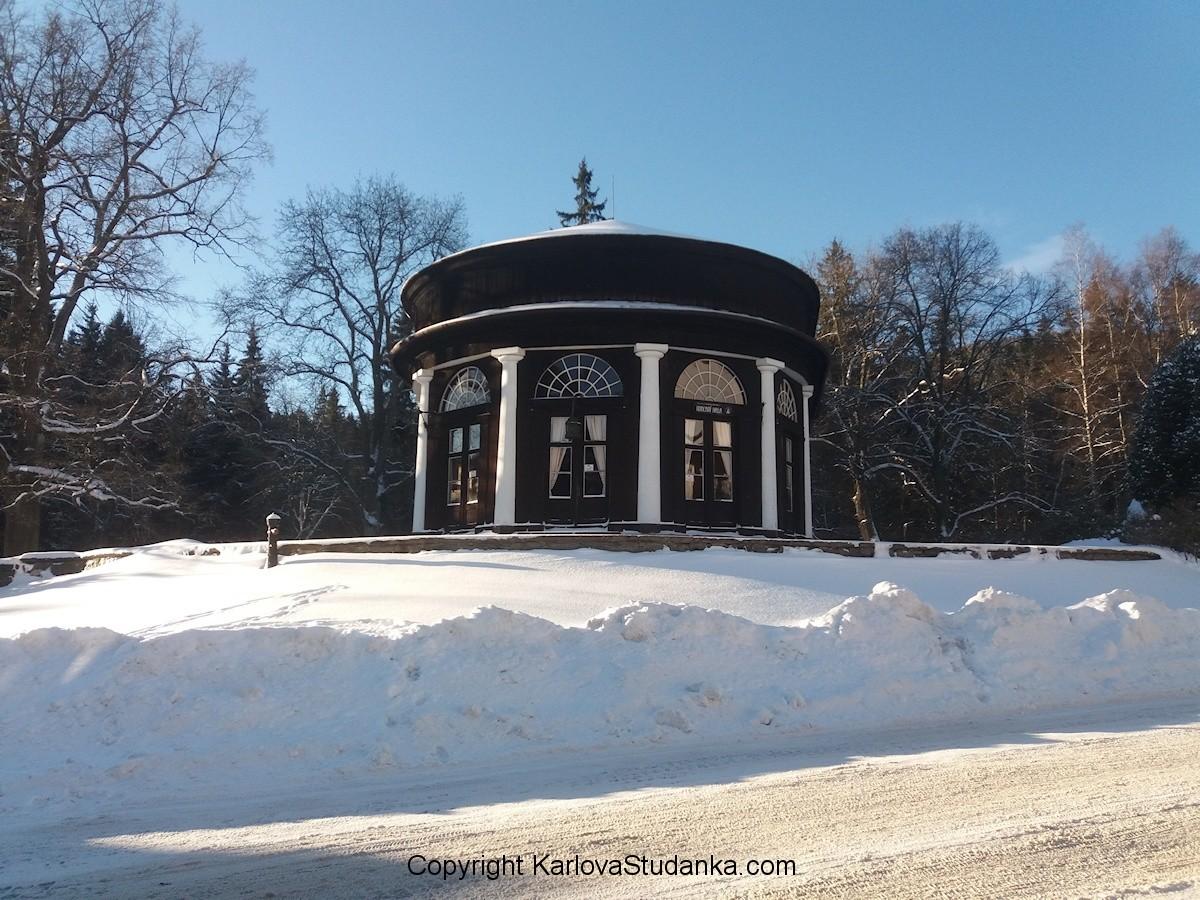Karlova Studánka Hudební salonek